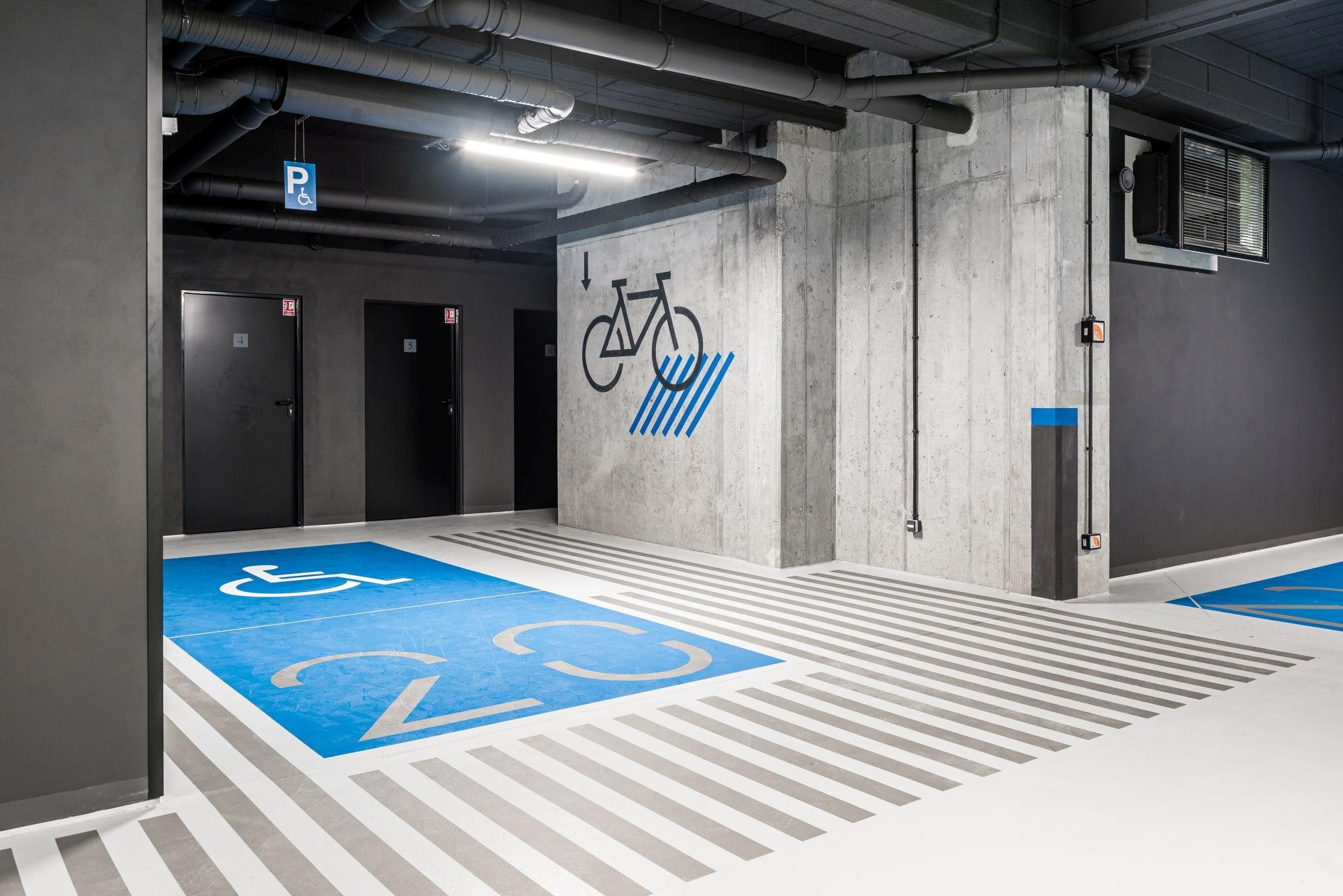 Projekt hala parkingowa Borowego Kraków